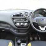Datsun redi-GO 1.0 MT Lime dashboard