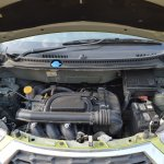 Datsun redi-GO 1.0 MT Lime engine bay