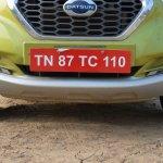 Datsun redi-GO 1.0 MT Lime faux skid plate (front)