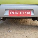 Datsun redi-GO 1.0 MT Lime faux skid plate (rear)