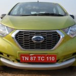 Datsun redi-GO 1.0 MT Lime front close view
