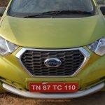 Datsun redi-GO 1.0 MT Lime front fascia