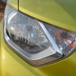 Datsun redi-GO 1.0 MT Lime headlamp straight view