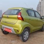 Datsun redi-GO 1.0 MT Lime rear three quarters right side