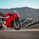Ducati Panigale V4 S press paddock shot