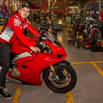 Ducati Panigale V4 factory shot