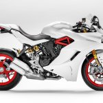 Ducati SuperSport S Star White Silk press right side