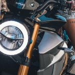 Energica EsseEsse9 press headlight