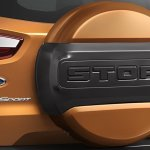 Ford EcoSport Storm custom spare wheel cover