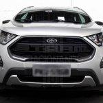 Ford EcoSport Storm front spy shot