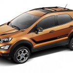 Ford EcoSport Storm front three quarters left side