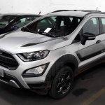 Ford EcoSport Storm front three quarters spy shot