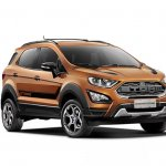 Ford EcoSport Storm front three quarters