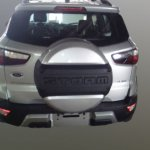 Ford EcoSport Storm rear spy shot