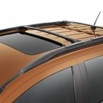 Ford EcoSport Storm roof racks with cross bars