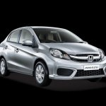 Honda Amaze Pride Edition front three quarters