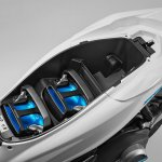 Honda PCX Electric batteries