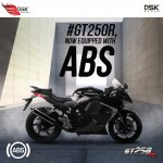 Hyosung GT250R with ABS banner