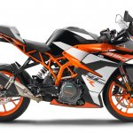 KTM RC 390 R press right side