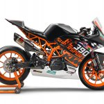 KTM RC 390 R with SSP300 kit press right side
