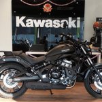 Kawasaki Vulcan S at dealership right side