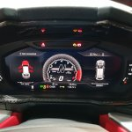 Lamborghini Urus instrument cluster India launch