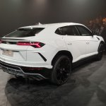 Lamborghini Urus rear three quarters India launch