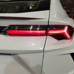 Lamborghini Urus tail lamp India launch