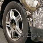 Mahindra U321 alloy wheel spy shot