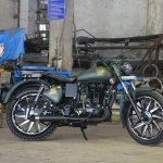 Royal Enfield Electra 350 86 Mania right side