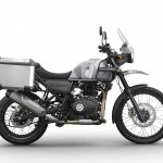 Royal Enfield Himalayan Sleet press shot right side