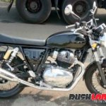 Royal Enfield Interceptor INT 650 spied after unveil right side