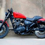 Royal Enfield Thunderbird 350 Abdias left side