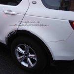 Tata H5 (Tata Q501) wheel arch spy shot