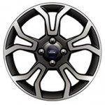 U.S.-spec 2018 Ford EcoSport Titanium optional 17-inch wheels
