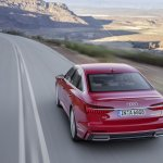 2018 Audi A6 S line elevated view