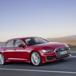 2018 Audi A6 S line front three quarters dynamic
