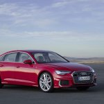 2018 Audi A6 S line front three quarters right side.jpg