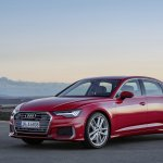 2018 Audi A6 S line front three quarters