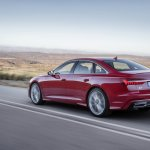 2018 Audi A6 S line rear three quarters dynamic