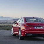 2018 Audi A6 S line rear three quarters left side