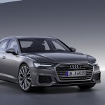 2018 Audi A6 front three quarters right side