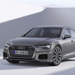 2018 Audi A6 front three quarters
