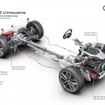 2018 Audi A6 mild hybrid 48-volt drivetrain