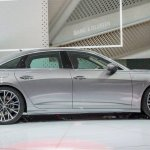 2018 Audi A6 profile at 2018 Geneva Motor Show