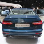 2018 Audi A6 rear at 2018 Geneva Motor Show