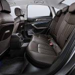 2018 Audi A6 rear seats