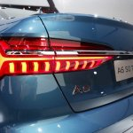 2018 Audi A6 tail lamp at 2018 Geneva Motor Show