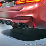 2018 BMW M5 First Edition rear bumper