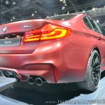 2018 BMW M5 First Edition rear three quarters low